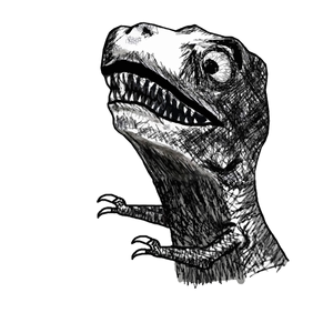 Trex Funny Meme Download Rage
