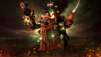 Warhammer Dawn Of War Iii Big Kustom Beauty Da Morkanaut Wallpaper Free Download Best Wallpaper