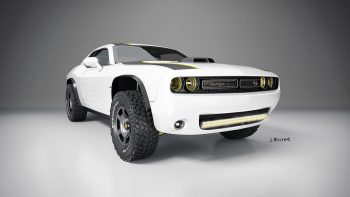 Dodge Challenger At Untamed Concept