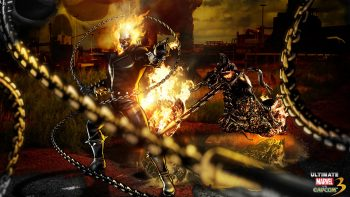 Ghost Rider Marvel Vs Capcom HD Wallpapers For Mobile