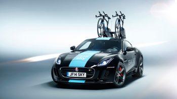 Jaguar F Type Coupe Tour De France