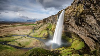 Waterfall Seljalandsfoss HD Wallpapers For Android