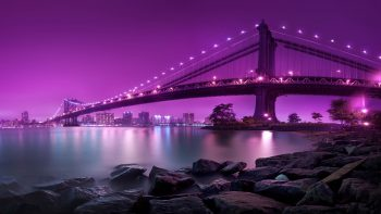 Manhattan Bridge New York City Wallpaper HD Download