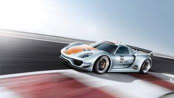 Porsche Rsr Speed Full HD Wallpaper Download