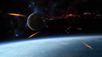Space War Full HD Wallpaper Download