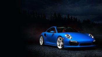 Blue Porsche 991 Full HD Wallpaper Download Wallpaper JPG Image
