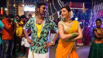 Dhanush Kajal Maari Tamil Movie Full HD Wallpaper Download Wallpaper JPG Image