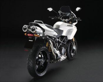 Ducati New Pearl White Livery