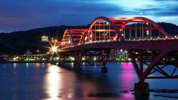 Guandu Bridge Taiwan