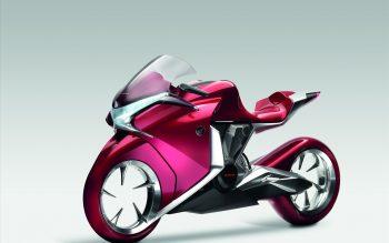 Honda V Concept Widescreen Bike
