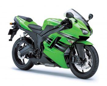 Kawasaki Ninja Z R Blue Green