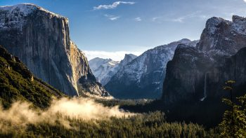 Mountains Of Yosemite National Park HD Wallpaper Download Wallpaper