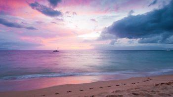 Twilight Island Beach Sunset 3D HD Wallpaper Download Wallpapers