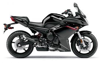 Yamaha Fz R Black