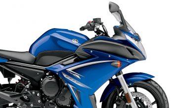 Yamaha Fz R Blue
