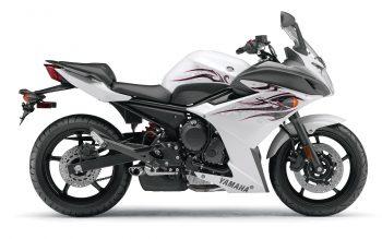 Yamaha Fz R White