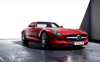 2011 Mercedes Benz Sls 3 Full HD Wallpaper Download