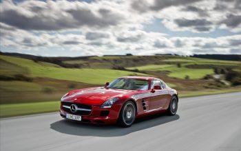 2011 Mercedes Benz Sls Full HD Wallpaper Download
