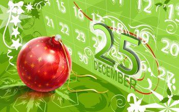 25 December Christmas Download Full HD Wallpaper