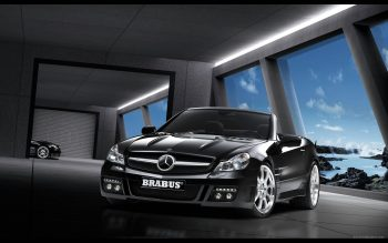 Brabus Mercedes Sl Class Download Full HD Wallpaper