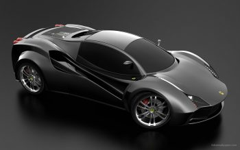 Ferrari Black Concept