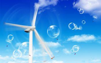 Fresh Air Bubbles Download Full HD Wallpaper