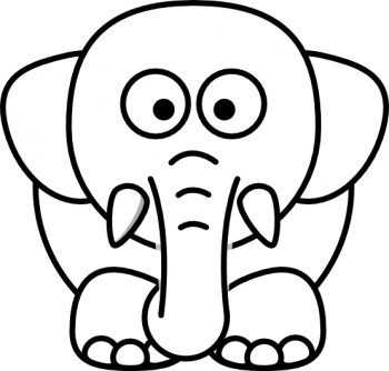 White  Baby Elephant  Animated Transparent PNG Image HD Wallpapers For Android