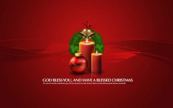 God Bless You Christmas Gifts Download Full HD Wallpaper