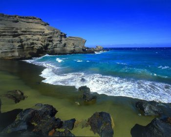 Green Beach Big Island HD Wallpaper For Free