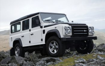 Land Rover Defender Fire Ice Editions 3 Download Full HD Wallpaper