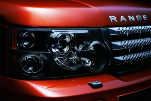 Land Rover Range Rover Sport Headlight Full HD Wallpaper Download