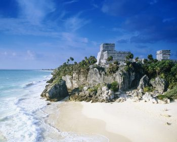 Mayan Ruins Mexico Beach HD Wallpaper For Free
