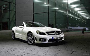 Mercedes Benz Sl63 Amg Convertible 2 Download Full HD Wallpaper