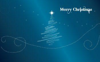 Merry Christmas Glitter Download Full HD Wallpaper