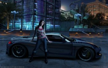 Need For Speed Carbon Girl Download Full HD Wallpaper