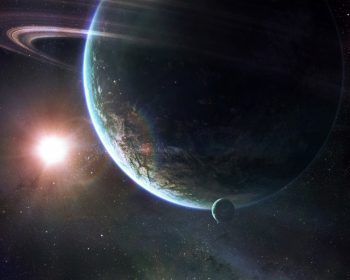 Planet In Universe HD Wallpaper For Free