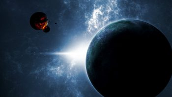 Planets In Space Super Hot Wallpaper