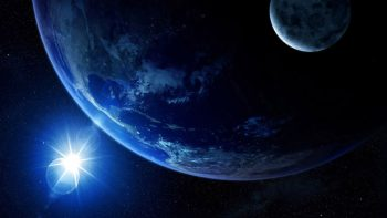 Shine To Earth Super Hot Wallpaper