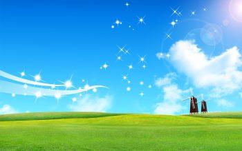 Shining Sky Download Full HD Wallpaper