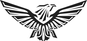 Transparent Eagle Black Logo Png Image Download