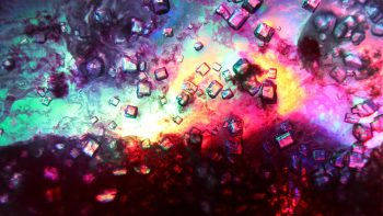 Abstract Colorful Psychedelic Color