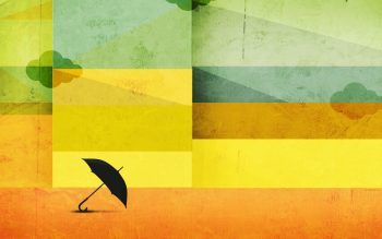 Abstract Minimalistic Umbrellas Neat Image For Free
