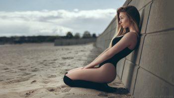Beautiful Girl Female Women Woman Babe Model Adult Blonde Bikini