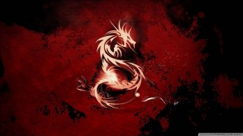 Blood Red Dragon Photograph