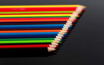 Bokeh Color Pencil Abstract Macro Pattern Neat Image For Free