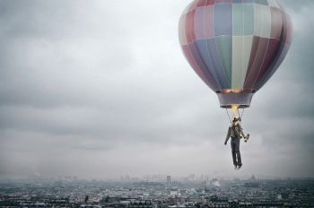 Creative City Could Man Balloon Fire Flight