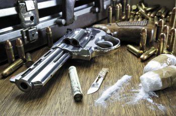 Drugs Cocaine Dark Weapon Gun Cigarette Ammo Bullet Crime