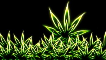Drugs Grass Marijuana Digital Art Weeds Fractal