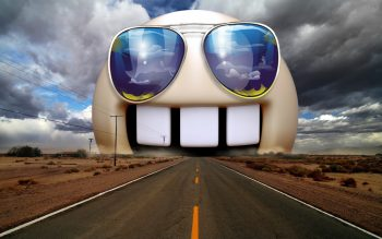 Funny Highway Sunglasses Photomanipulations Neat Image For Free