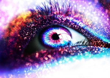 Glitter Sparkle Psychedelic Abstract Abstraction Bokeh Eyes Eye Fantasy Color Vampire Dark